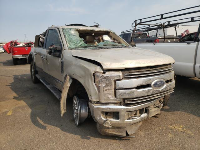 Salvage cars for sale from Copart Pasco, WA: 2017 Ford F350 Super
