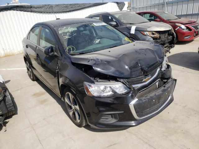 Salvage cars for sale from Copart Sacramento, CA: 2019 Chevrolet Sonic Premium