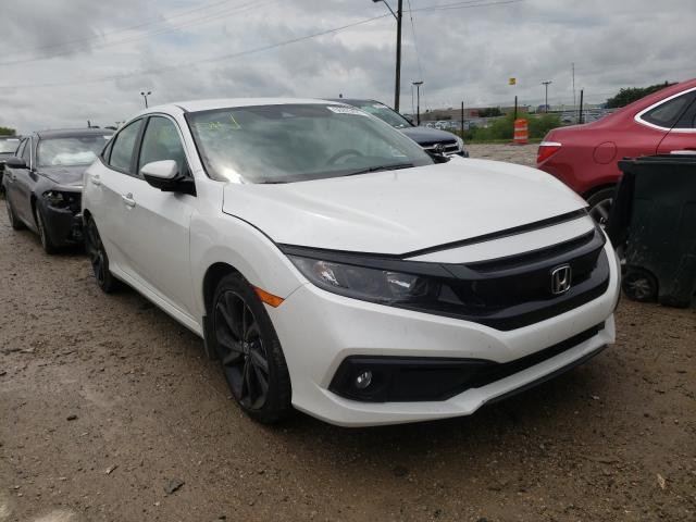 Vehiculos salvage en venta de Copart Indianapolis, IN: 2020 Honda Civic