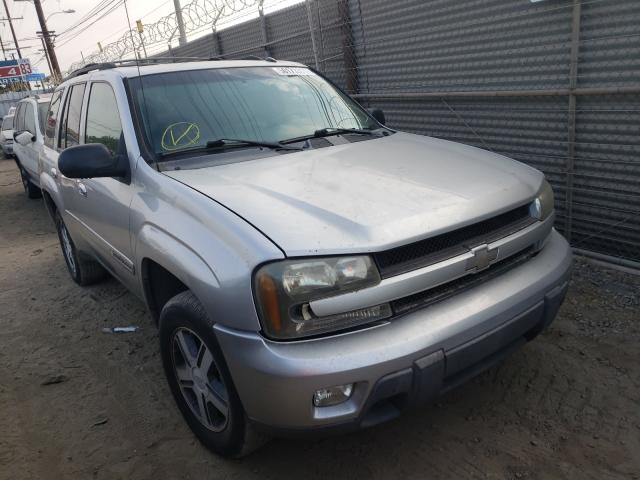 Chevrolet Trailblazer salvage cars for sale: 2004 Chevrolet Trailblazer