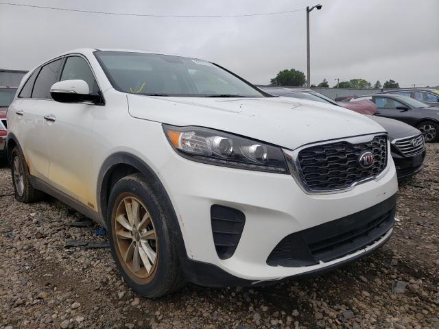 Salvage cars for sale from Copart Cudahy, WI: 2020 KIA Sorento S
