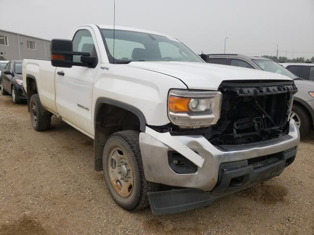 Salvage cars for sale from Copart Nisku, AB: 2016 GMC Sierra K25