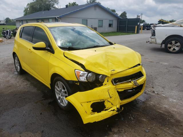 Salvage cars for sale from Copart Sikeston, MO: 2016 Chevrolet Sonic LT