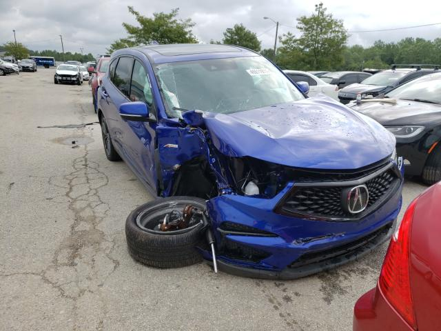 Acura RDX A-Spec salvage cars for sale: 2021 Acura RDX A-Spec