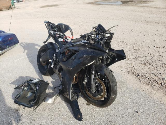 Salvage cars for sale from Copart Houston, TX: 2020 Yamaha YZFR6