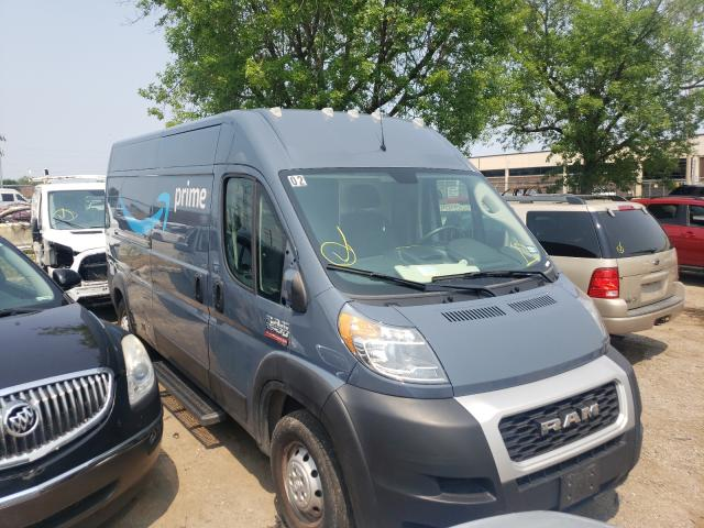 Salvage trucks for sale at Wheeling, IL auction: 2019 Dodge RAM Promaster