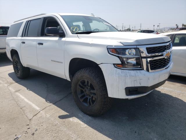Vehiculos salvage en venta de Copart Sun Valley, CA: 2018 Chevrolet Suburban C