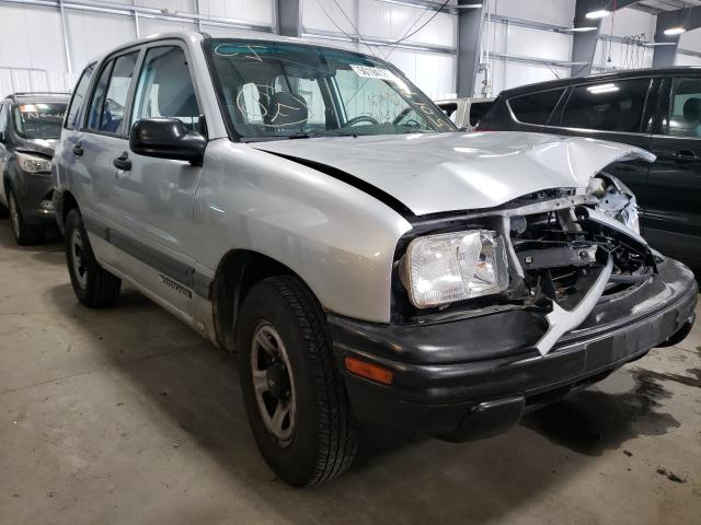 Chevrolet Tracker salvage cars for sale: 2000 Chevrolet Tracker