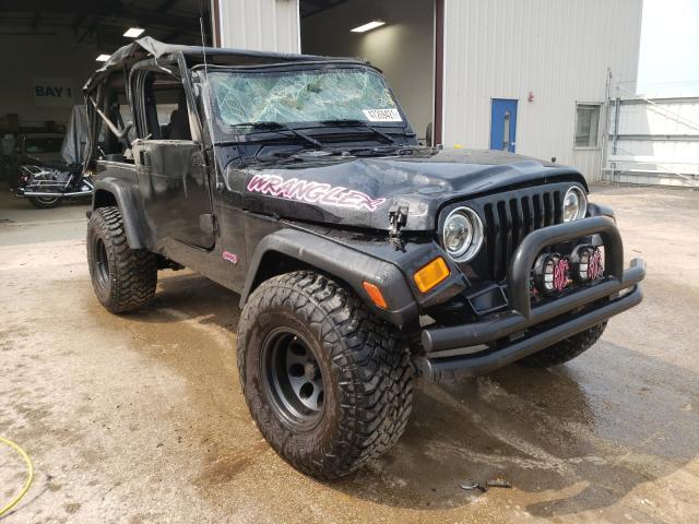 Jeep Wrangler salvage cars for sale: 2005 Jeep Wrangler