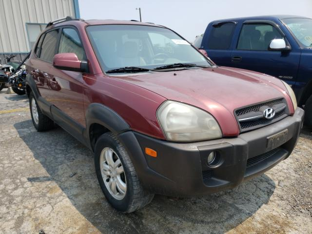 Salvage cars for sale from Copart Chambersburg, PA: 2007 Hyundai Tucson SE