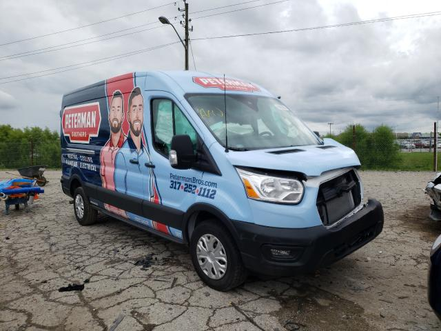 Salvage cars for sale from Copart Indianapolis, IN: 2020 Ford Transit T