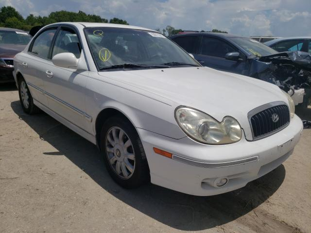 Salvage cars for sale from Copart Riverview, FL: 2003 Hyundai Sonata GLS