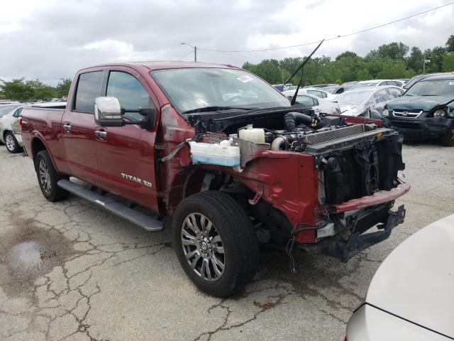 Vehiculos salvage en venta de Copart Louisville, KY: 2016 Nissan Titan XD S