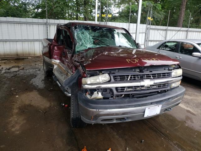 Salvage cars for sale from Copart Austell, GA: 2002 Chevrolet Silverado