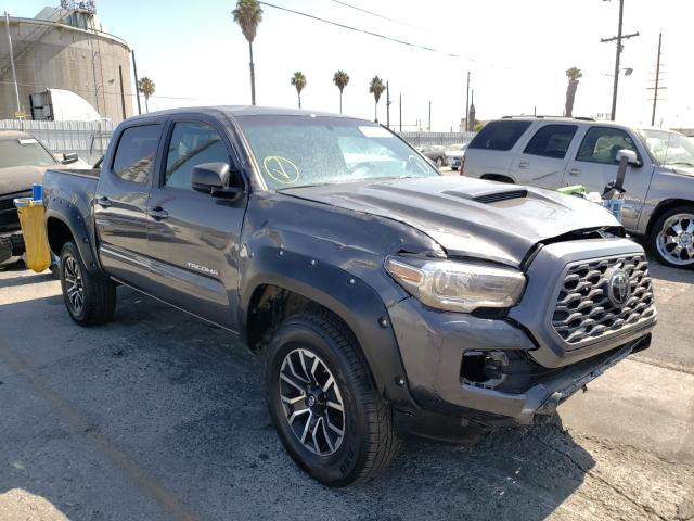 Salvage cars for sale from Copart Wilmington, CA: 2020 Toyota Tacoma DOU