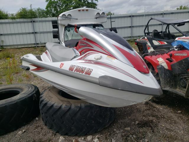 Salvage boats for sale at Columbia Station, OH auction: 2007 Yamaha Jetski