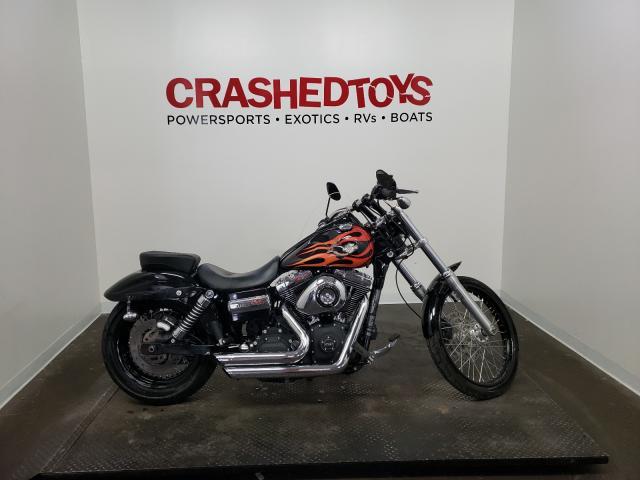Harley-Davidson salvage cars for sale: 2012 Harley-Davidson Fxdwg Dyna