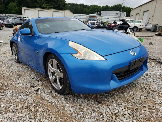 Nissan 370Z salvage cars for sale: 2009 Nissan 370Z