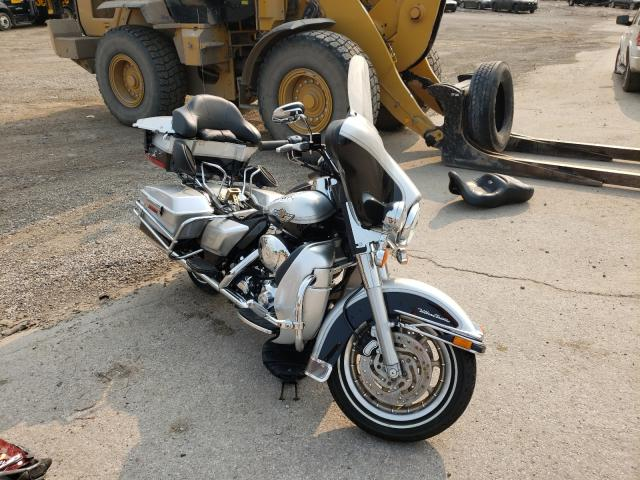 Salvage cars for sale from Copart Elgin, IL: 2003 Harley-Davidson Flhtcui AN