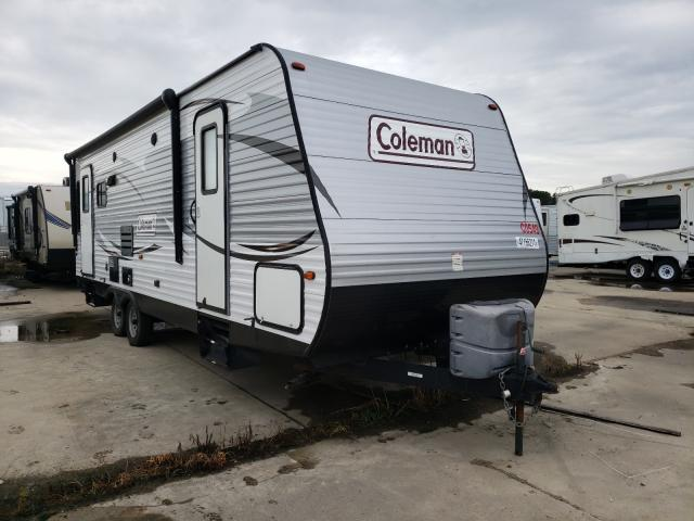 Coleman salvage cars for sale: 2016 Coleman Travel Trailer