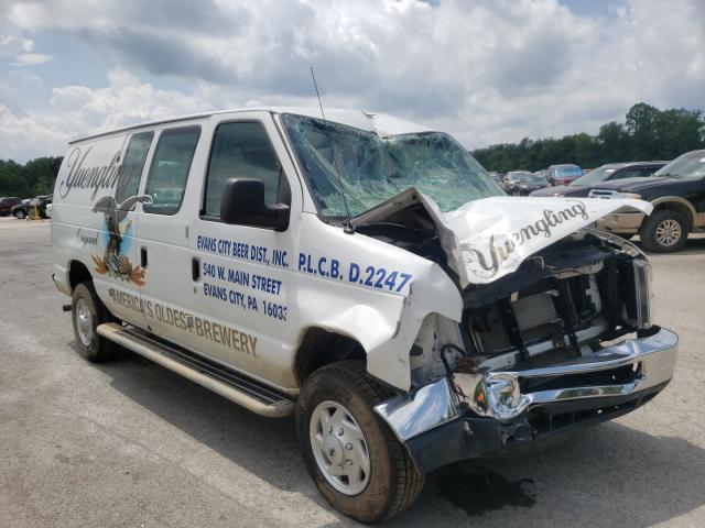 Salvage cars for sale from Copart Ellwood City, PA: 2014 Ford Econoline