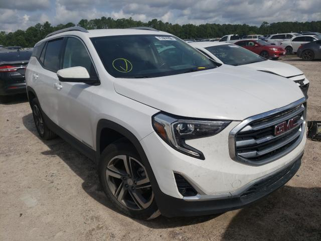 Salvage cars for sale from Copart Houston, TX: 2019 GMC Terrain SL
