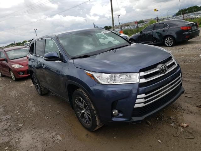 Vehiculos salvage en venta de Copart Indianapolis, IN: 2017 Toyota Highlander