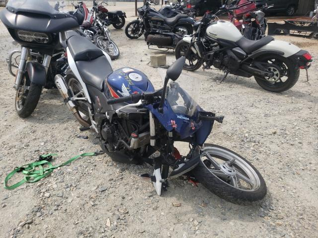 Salvage cars for sale from Copart Seaford, DE: 2012 Honda CBR250 R