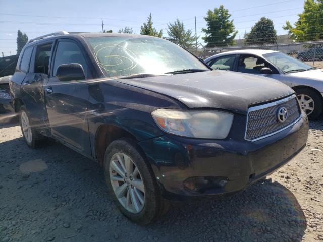 Salvage cars for sale from Copart Eugene, OR: 2008 Toyota Highlander