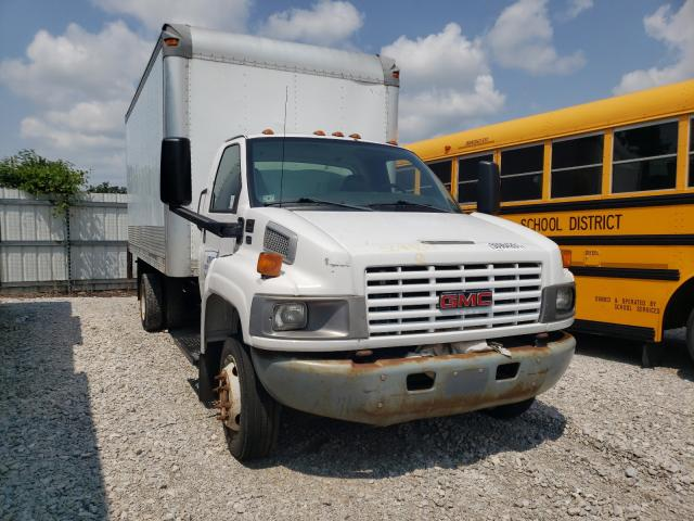 Salvage cars for sale from Copart Des Moines, IA: 2005 GMC C5500 C5C0