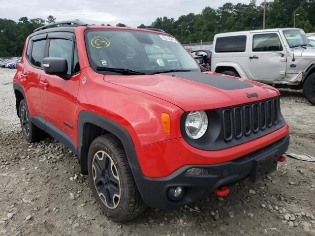 Salvage 2015 JEEP RENEGADE - Small image. Lot 50163281