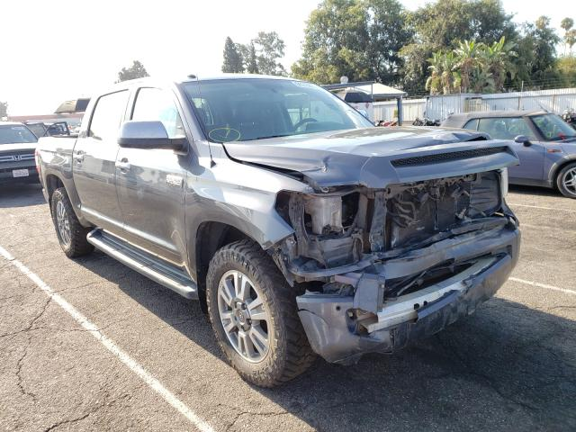 Salvage cars for sale from Copart Van Nuys, CA: 2016 Toyota Tundra CRE