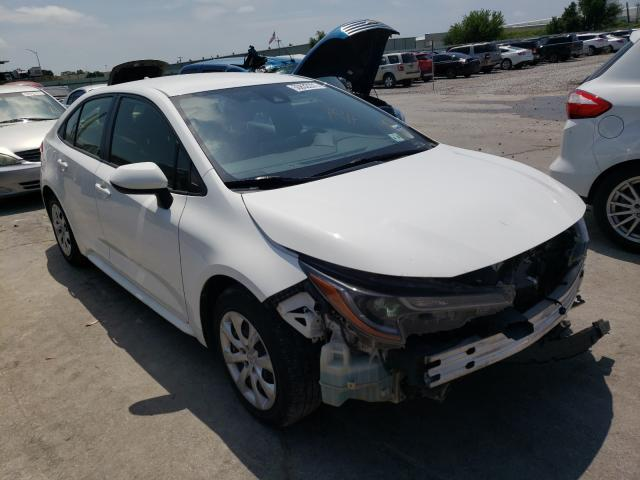 Salvage cars for sale from Copart Tulsa, OK: 2020 Toyota Corolla LE