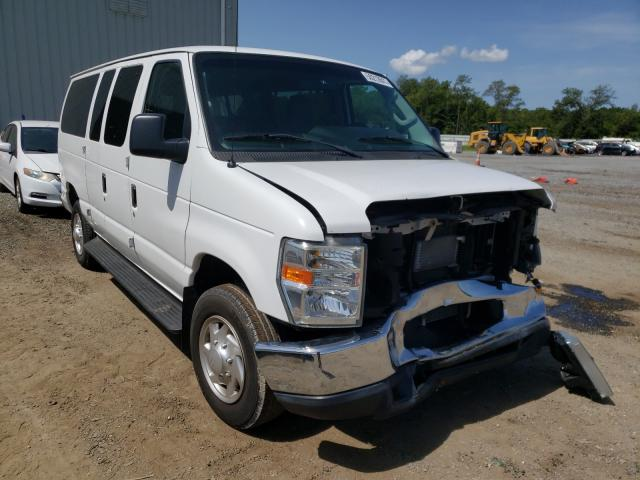 Salvage cars for sale from Copart Jacksonville, FL: 2011 Ford Econoline