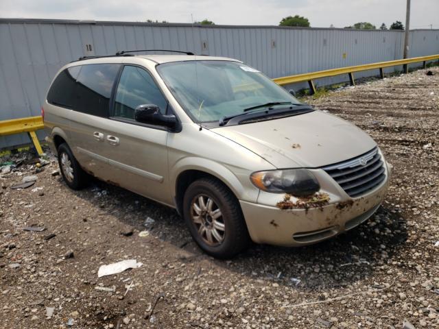 Vehiculos salvage en venta de Copart Cudahy, WI: 2006 Chrysler Town & Country
