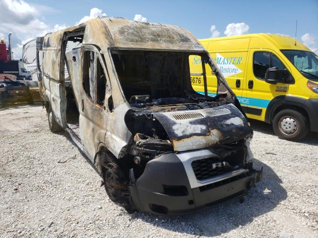 Salvage cars for sale from Copart Apopka, FL: 2019 Dodge RAM Promaster