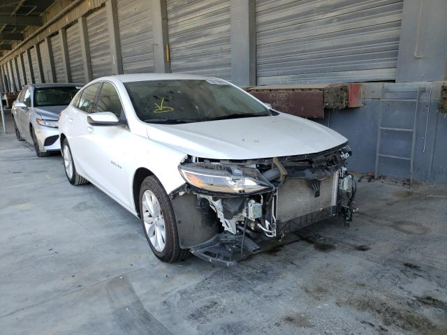 Salvage cars for sale from Copart Hayward, CA: 2020 Chevrolet Malibu LT
