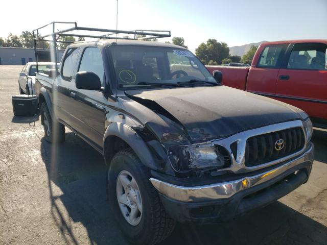 Salvage cars for sale from Copart Colton, CA: 2003 Toyota Tacoma DOU