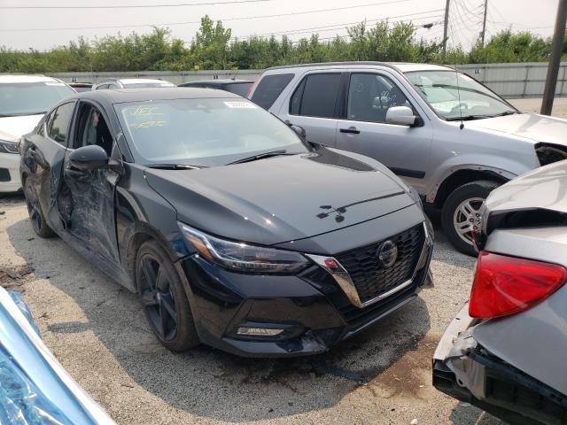 Vehiculos salvage en venta de Copart Indianapolis, IN: 2021 Nissan Sentra SR