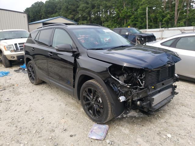 Salvage cars for sale at Seaford, DE auction: 2019 GMC Terrain SL