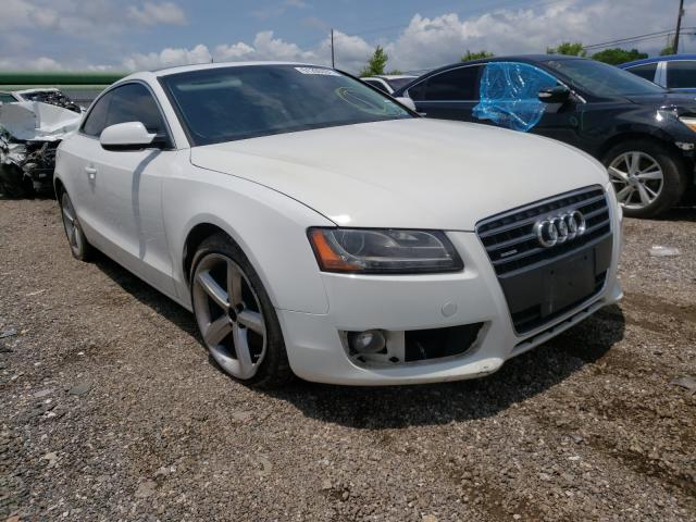 Salvage cars for sale from Copart Houston, TX: 2010 Audi A5 Premium