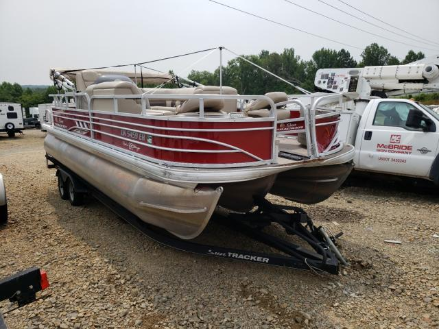 Suntracker salvage cars for sale: 2021 Suntracker Fish Barge