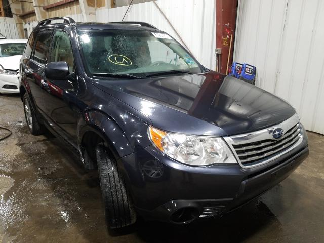 Salvage cars for sale at Anchorage, AK auction: 2010 Subaru Forester 2