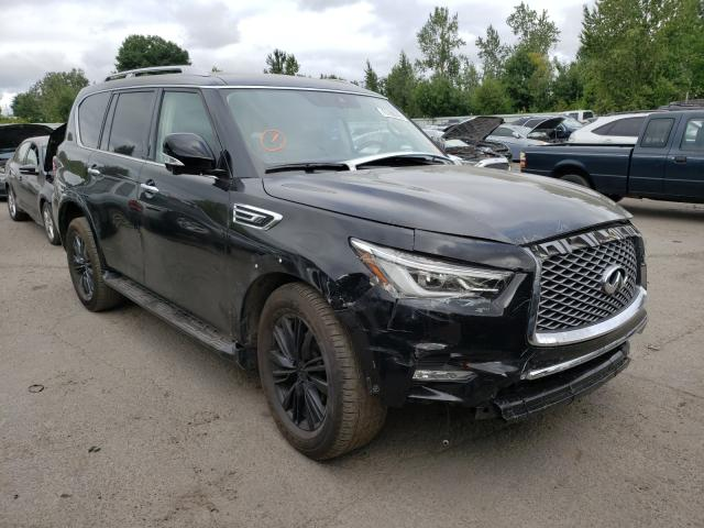 Infiniti salvage cars for sale: 2021 Infiniti QX80 Luxe