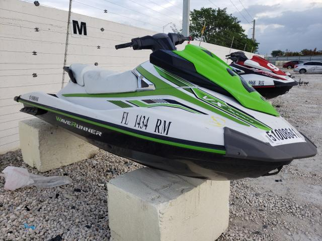 Salvage cars for sale from Copart Homestead, FL: 2018 Yamaha VX