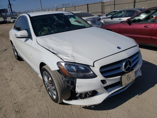 Salvage cars for sale from Copart Los Angeles, CA: 2015 Mercedes-Benz C300