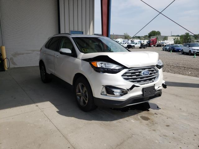 Salvage cars for sale from Copart Billings, MT: 2019 Ford Edge SEL