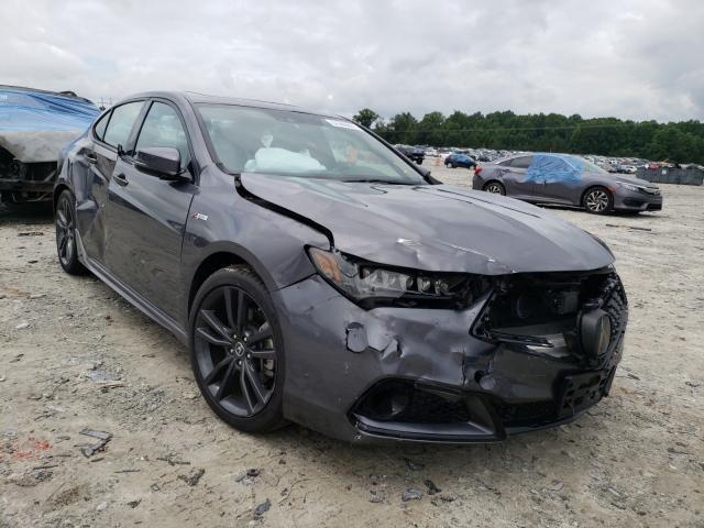 Vehiculos salvage en venta de Copart Loganville, GA: 2020 Acura TLX Techno