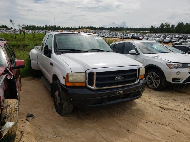 Salvage cars for sale from Copart Gaston, SC: 1999 Ford F350 Super