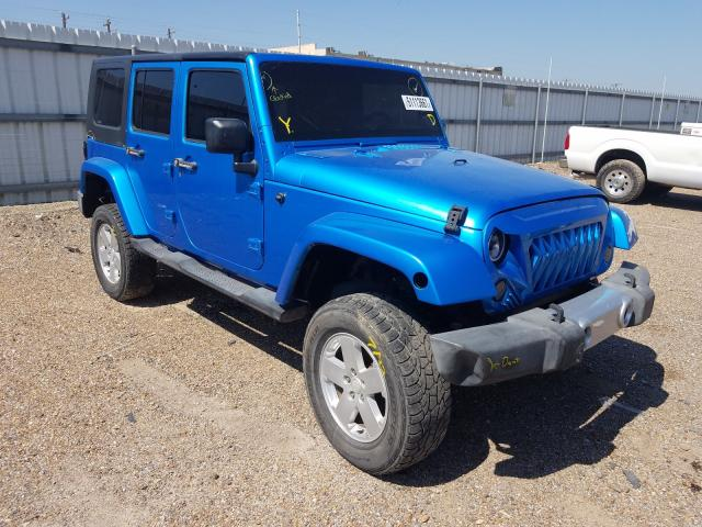 Salvage cars for sale from Copart Mercedes, TX: 2010 Jeep Wrangler U